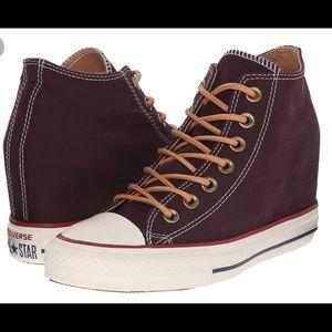Converse CTas Lux Mid, Wedge Sneaker